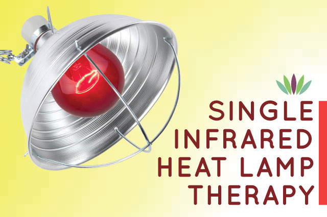 Single Infrared Heat Lamp Therapy Live To 110