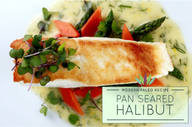 Pan-Seared-Halibut