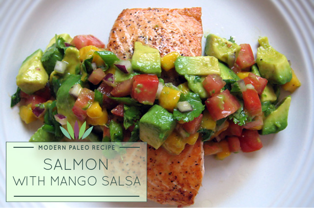 Salmon-with-Mango-Salsa