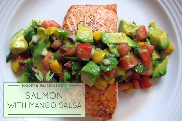 Salmon-with-Mango-Salsa