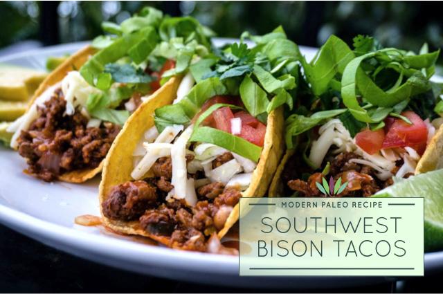 Southwest-Bison-Tacos